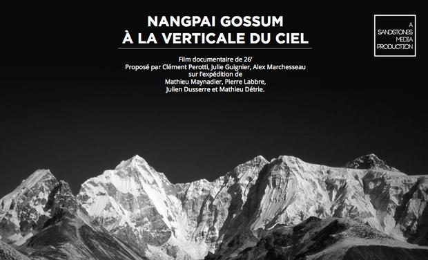 Visuel du projet Documentaire - Nangpai Gossum, à la verticale du ciel