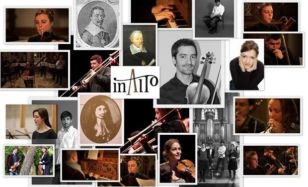 Visuel du projet Enregistrement CD ensemble InAlto: Nachfolge, Heinrich Schütz and his legacy