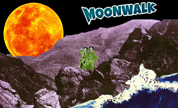 Visueel van project MOON WALK
