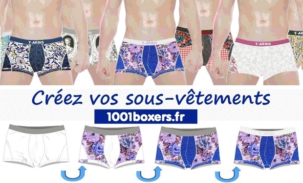 Project visual 1001boxers.fr