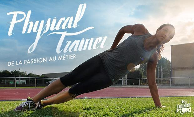 "Visuel du projet Websérie ""Physical Trainer"" par le blog My Training Diary"