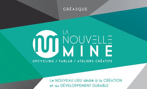 Visueel van project LA NOUVELLE MINE 450 m2 dédiés à la création et au développement durable.