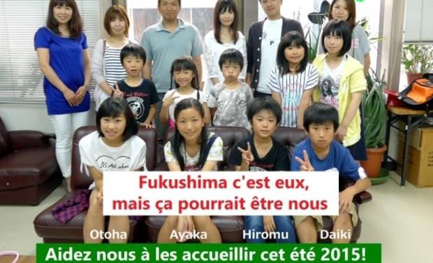 Visuel du projet Accueil des enfants de Fukushima en France - été 2015