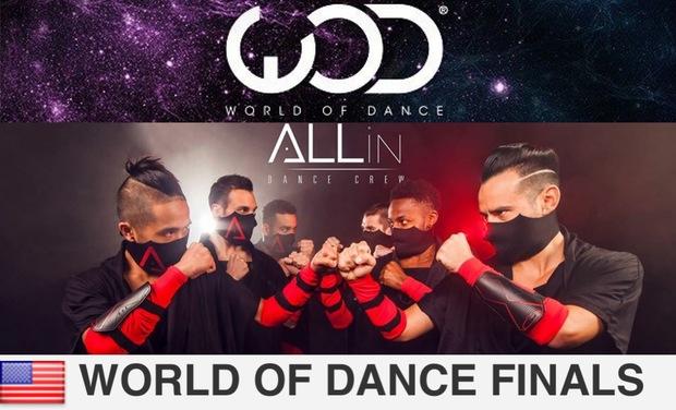 Visuel du projet Aidez ALLin à partir pour la compétition WORLD OF DANCE à Los Angeles