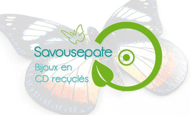 Visueel van project Savousepate : Des écrins pour mes bijoux en CD recyclés