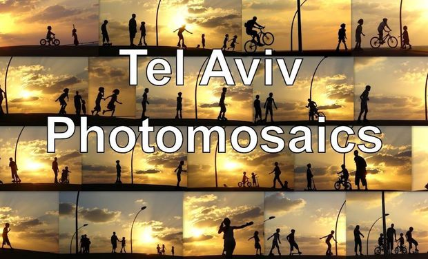 Visueel van project Tel Aviv Photomosaics