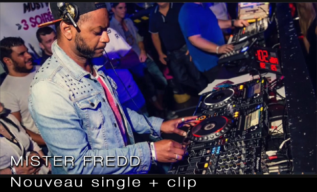 Visueel van project Mister Fredd - Nouveau Single + Clip