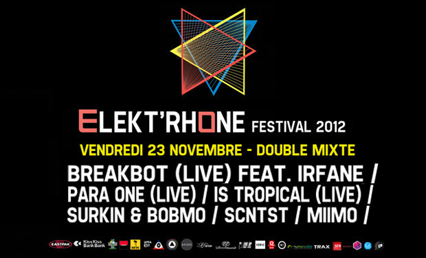 Project visual Elekt'Rhône Festival