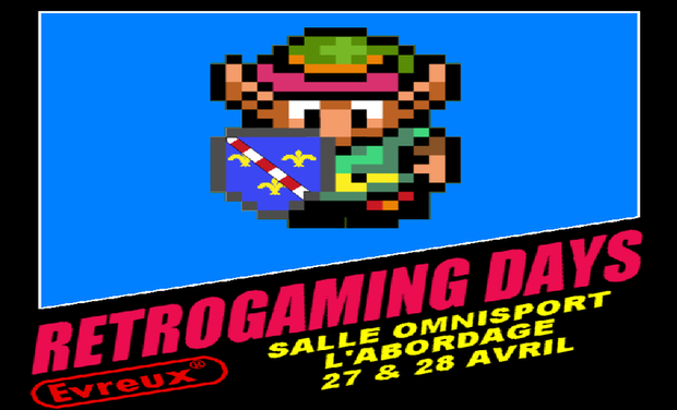 Visueel van project Retro Gaming days 2nd impact