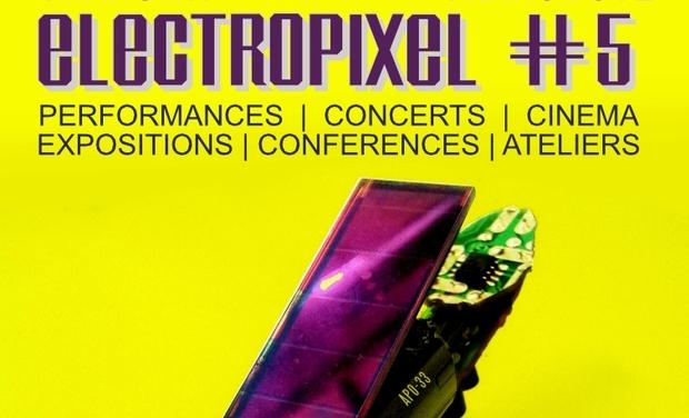 Project visual Soutien pour le Festival Electropixel à Nantes