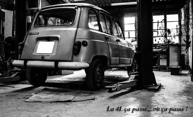 Visueel van project La 4L ça passe...ou ça passe !