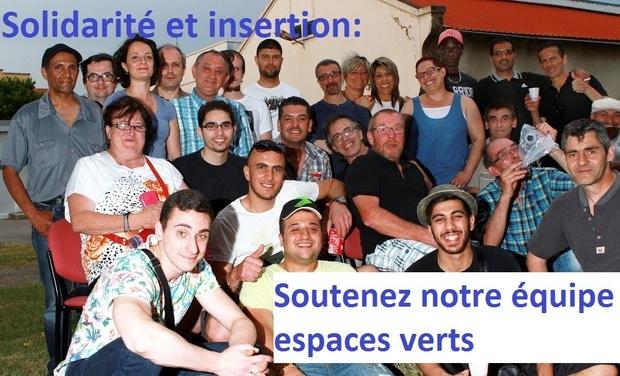 Visueel van project Solidarité et insertion: soutenez notre équipe espaces verts
