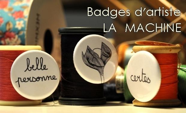 Project visual Aidez à créer des badges délirants !!