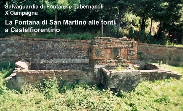 Project visual La Fontana di San Martino alle Fonti - Restauriamola!
