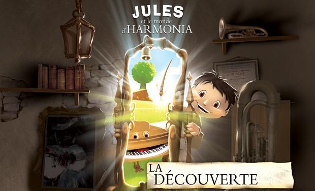 Visuel du projet Jules et le monde d'Harmonia