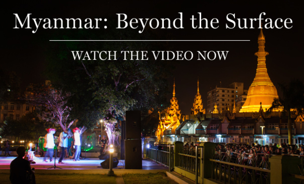 Visuel du projet Myanmar: Beyond the Surface - The Book