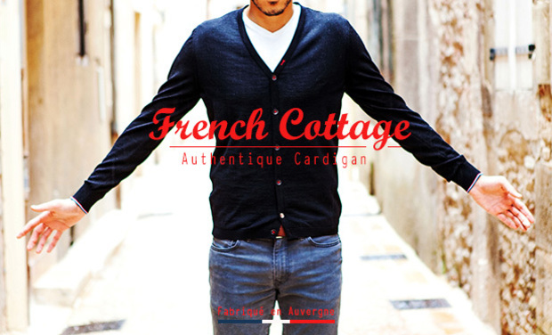 Project visual FRENCH COTTAGE : Cardigans Made in France (Auvergne)