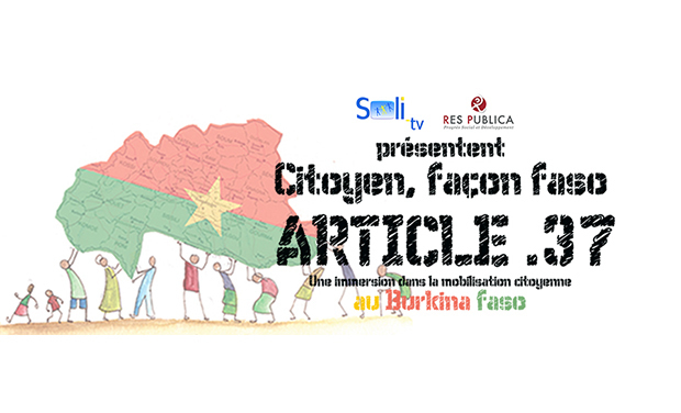 Project visual Citoyen, Façon Faso : Article 37