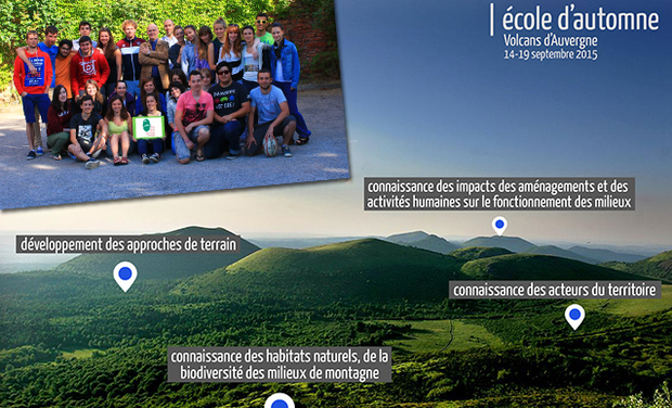 Project visual Ecole d'Automne