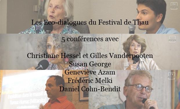 Project visual Les Eco-dialogues du Festival de Thau 2015