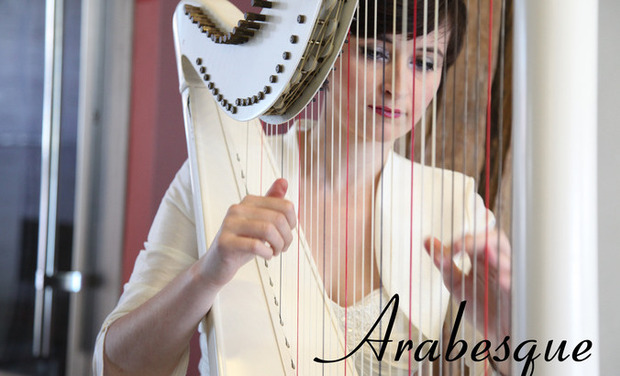 "Visueel van project Harpe classique, ""Arabesque"""