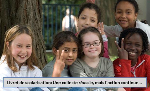 Visuel du projet Aidez-nous à financer l'édition d'un livret de scolarisation d'un élève avec une trisomie 21