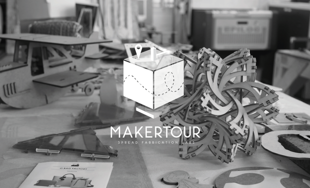 Visuel du projet MakerTour - the fablab expedition