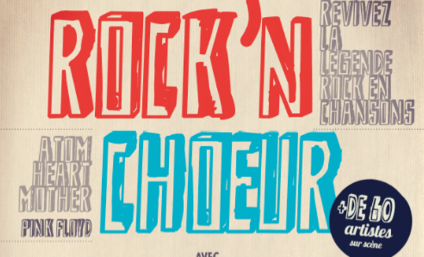 Visueel van project ROCK'N'CHOEUR