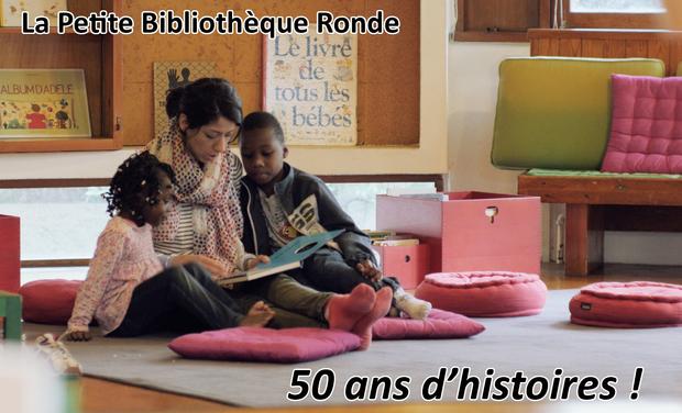 Visuel du projet La Petite Bibliothèque Ronde : 50 ans d'histoires !