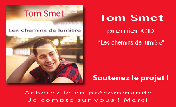 Project visual Tom Smet - ENREGISTREMENT DU PREMIER CD