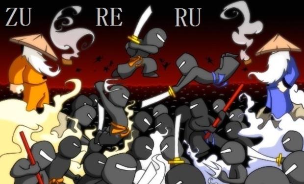 Visuel du projet Autoédition de jeu de société chez les ninjas: Zureru