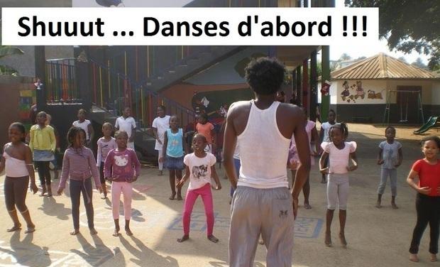 Visueel van project Shuuut ... Danses d'abord !!!