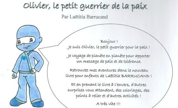 Visueel van project Olivier, le petit guerrier pour la paix (livre jeunesse)