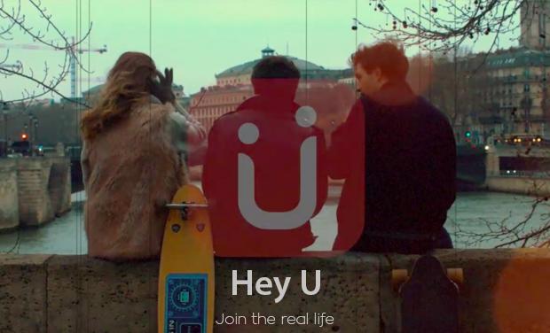 Visuel du projet Hey U, join the real life !