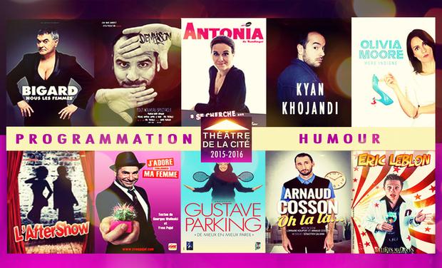 Visueel van project Programmation Humour - Théâtre de la Cité (Nice)
