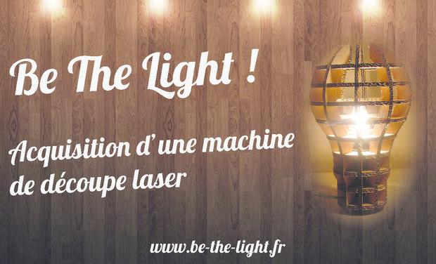 Visueel van project Be The Light - Heureux soient les fêlés car ils laisseront passer la lumière.