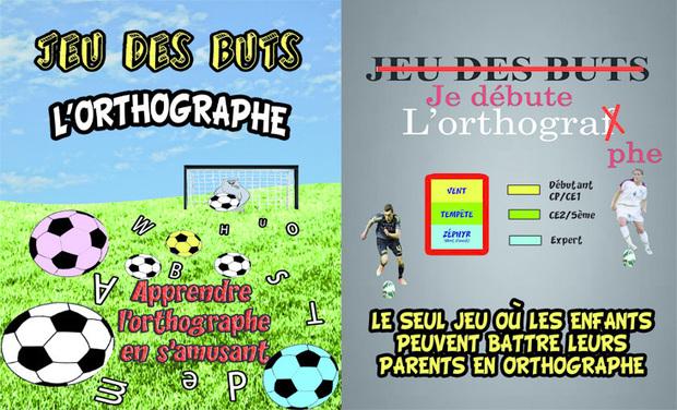 Project visual JEU DES BUTS l'orthographe