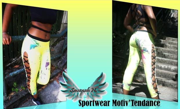 Visuel du projet Savanah N. Sportwear Motiv'Tendance