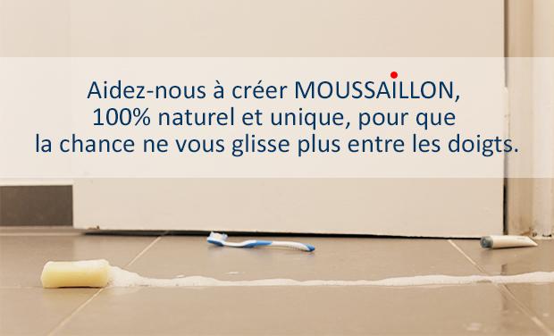 Visuel du projet Moussaillon, le savon pour que la chance ne vous glisse plus entre les doigts.