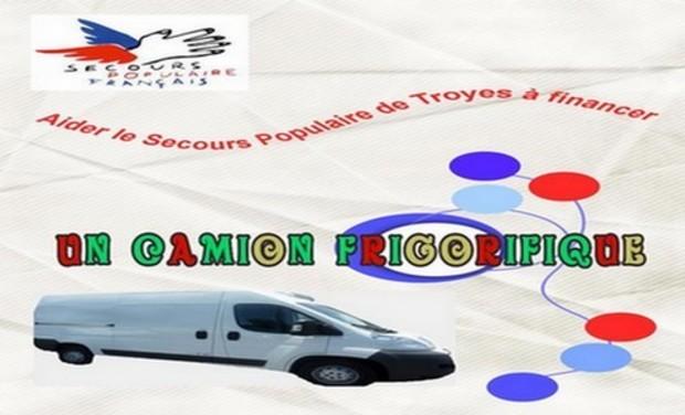 Project visual Un Camion Frigorifique pour le Secours Populaire de Troyes