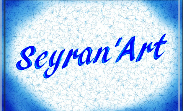 "Visuel du projet ""Seyran'Art"", promotion d'artistes et artisans"