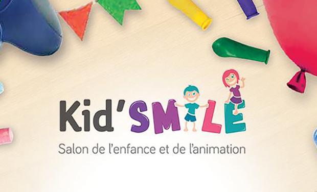Project visual Kid'Smile : le Salon de l'enfance et de l'animation