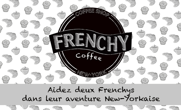 Project visual Frenchy Coffee NYC
