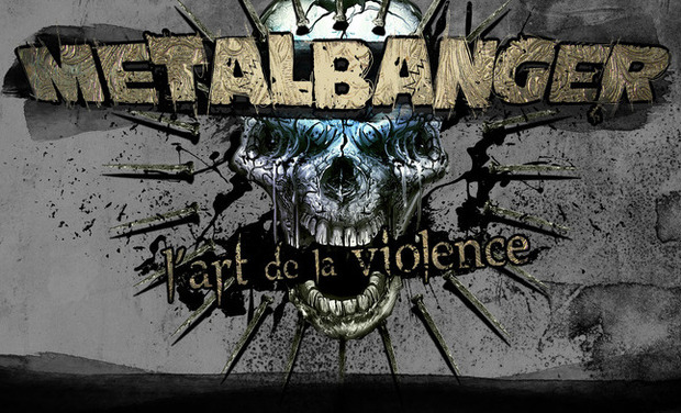 Project visual Metalbanger, l'art de la violence