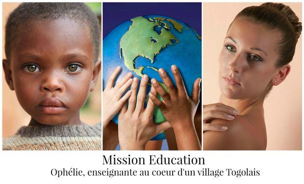 Visuel du projet Mission éducation - 3 mois au cœur d'un village Togolais
