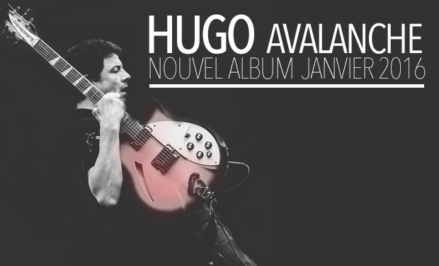 Visueel van project HUGO - AVALANCHE - NOUVEL ALBUM