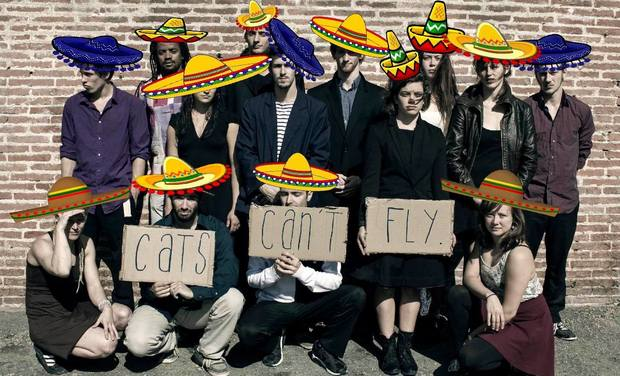 Project visual Cats Can't Fly (to mexico?)