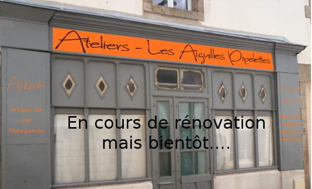 Visuel du projet L'atelier les Aiguilles Pipelettes,2 créatrices et des cours de couture