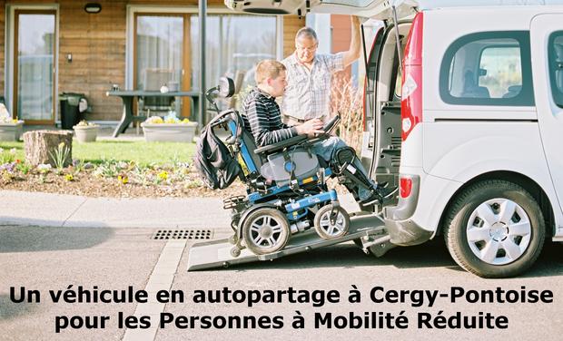 Visuel du projet Un véhicule en autopartage à Cergy-Pontoise pour les Personnes à Mobilité Réduite