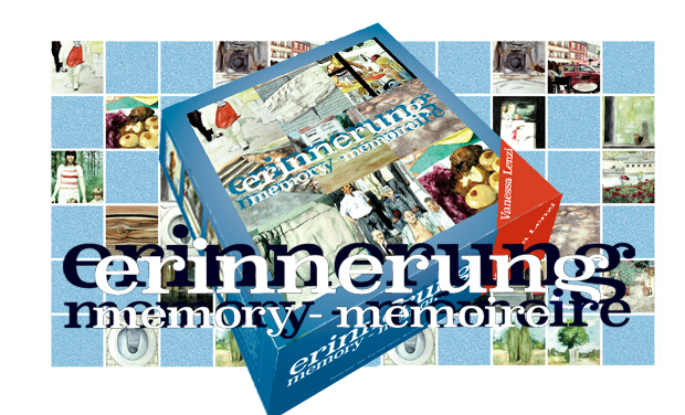 Project visual «Erinnerung » : édition d'un jeu-objet d'art